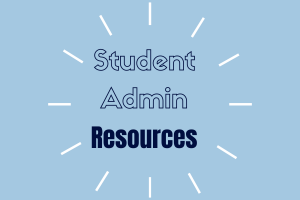 Student Admin Resources